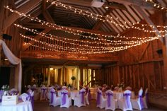 Tythe Barn Evening Reception