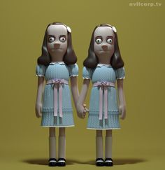 Creative Review - Comedy and horror characters from A Large Evil Corporation