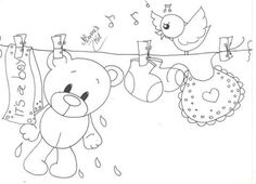 46 Ideas embroidery patterns free templates coloring pages Hand Embroidery Letters, Hand Embroidery Patterns Flowers, Baby Embroidery, Hand Embroidery Designs, Baby Coloring Pages, Coloring Pages For Kids, Kids Coloring, Colouring, Baby Painting
