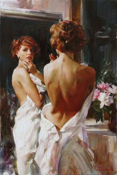Duet painting by Michael & Inessa Garmash