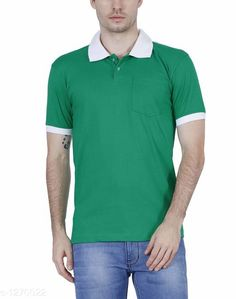 Tshirts Elegant Men's Solid Cotton Tshirt Fabric: Cotton Sleeves: Short Sleeves Are Included Size: SM L XL XXL ( Refer Size Chart ) Length- Refer Size Chart Type: Stitched Description: It Has 1 Pieces Of Men's T- Shirt's  Pattern: Solid Country of Origin: India Sizes Available: XS, S, M, L, XL, XXL   Catalog Rating: ★4 (389)  Catalog Name: Everyday Elegant Mens Solid Cotton Tshirts Vol 3 CatalogID_161229 C70-SC1205 Code: 063-1270022-0801