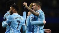 #LigaPremier: El City de Guardiola se impone 2-1 al United de Mourinho