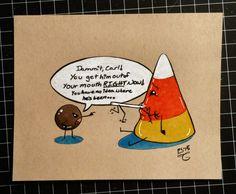 Day 23: Carl & Marty 2 #Inktober #Copic #Brushpens