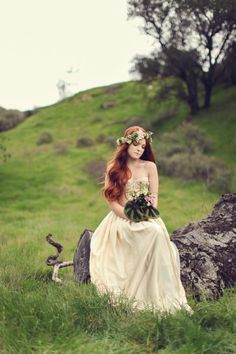 Swooned: Irish Fairy Tale: A Moodily Romantic Styled Shoot Inspired by St…