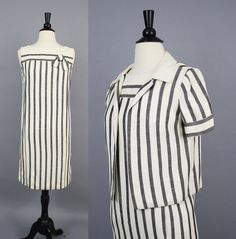 Hey, I found this really awesome Etsy listing at https://www.etsy.com/listing/241434123/vintage-60s-parisian-striped-linen-shift