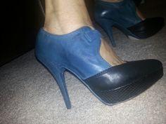 Blue/black combo...