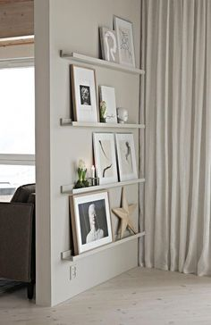 how to decorate a living room – Living Room Decoration - Zimmereinrichtung Cheap Home Decor, Diy Home Decor, Cheap Wall Decor, Thrifty Decor, Diy Decoration, Frame Shelf, Ikea Living Room, How To Decorate Living Room Walls, Decorate A Wall