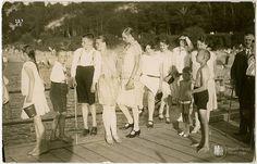 Отдыхающие на променаде в Раушене (Светлогорск). Фото: Фритц Краускопф, ок. 1930 г.