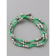 Wrap bracelets are so in!