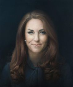 Kate Middleton's official royal portrait was unveiled yesterday at London's National Portrait Gallery - ARTIST Paul Emsley
