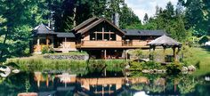 A Hidden Haven Bed and Breakfast - Water Garden Cottages #travel #Washington #paradise