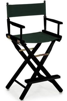 director's chair - aside from being a neurosurgeon and a writer, also being a director too wahahahaha