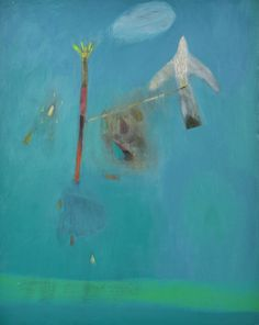 becky blair * artist - paintings: tethered