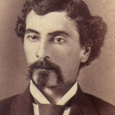 Beard: horseshoe Photo taken: 1800s Person: unknown Source: henryherz.wordpress.com Age: 30s