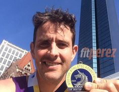 Joey McIntyre Finished The Boston Marathon For The Second Straight Year With New Kids On The Block Bandmate Danny Wood!