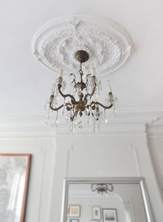 Ceilings medallion. 8 Ways to Fake It | Apartment Therapy
