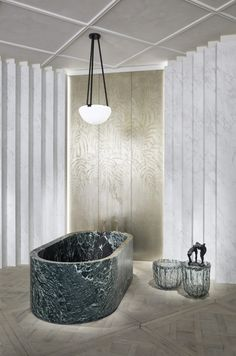 AD Intérieurs Humbert & Poyet, The neo-classical bathroom bathroomideas luxuryinterior Home Luxury, Luxury Interior, Luxury Homes, Interior Design, Interior Ideas, Spa Inspired Bathroom, Bathroom Spa, Bathroom Ideas, Bathroom Mirrors