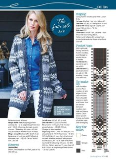 Knitting & Crochet from Woman's Weekly March 2018. — HandMade
