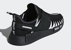 Neighborhood x adidas NMD Collaboration Release Info Adidas Nmd, Adidas Sneakers, Hypebeast, Sneakers Fashion, Fashion Shoes, Dope Fashion, Shoe Sites, Lit Shoes, Adidas Boost