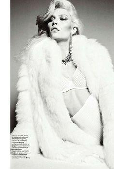 Aline Weber for Harper's Bazaar Spain December 2011