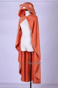 Cosyuan Umaru Doma Cloak Himouto Umaru-chan Cosplay Costume Coral Fleece Blanket Orange: Amazon.co.uk: Clothing
