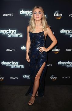 Julianne Hough sizzles in sparkly floor-length gown that shows off a lot of skin Julianne Hough Dancing, Julianne Hough Hot, Julianna Hough, Floor Length Gown, Hot Actresses, Female Actresses, Sexy Poses, Dancing With The Stars, Cute Woman