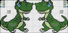 Cute Cross Stitch, Cross Stitch Animals, Cross Stitch Charts, Cross Stitch Patterns, Embroidery Stitches, Embroidery Patterns, Quilt Patterns, Intarsia Knitting, Baby Knitting