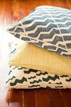 Pattern Pillows: