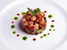 #Ensalada de verduras y setas con mollejitas de cerdo, receta fácil pero con un emplatado más elaborado. ¡Sorprenderás a tus invitados!