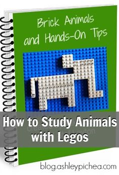 How to Study Animals with Legos || a review of Brick Animals eBook on blog.ashleypichea.com