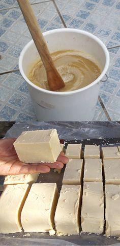 Home Crafts, Diy And Crafts, Tricks, Food, Empanadas, Homemade Washing Detergent, Home Made Soap, 3 Ingredients, Make Soap