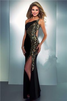 Marine corps ball dress idea