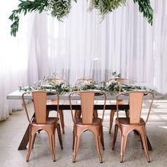 Decoração de Casamento Industrial Rose Gold ————————————————————————————————————————————————— Gostaram da paleta de Decoração de Casamento Industrial Rose Gold? Deixem sugestões nos comentários!