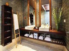 Bathroom in Squirrel House or Puri Tupai in Bali