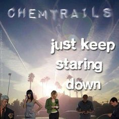Look up chemtrails!!