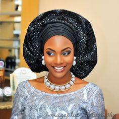 Nigerian wedding thanksgiving photos from Hadiza & Olamiju Akala in Ibadan 1 African Wedding Attire, African Attire, African Wear, African Women, African Dress, African Style, Nigerian Bride, Nigerian Weddings, African Weddings