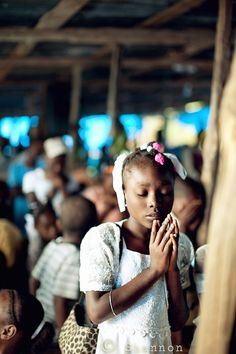 There is just something so beautiful about seeing children pray ❤❤