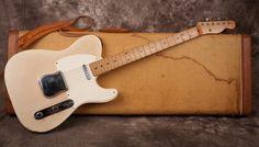 Fender Telecaster 1958 Blonde | Reverb