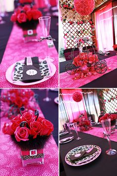 Pink leopard party