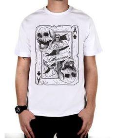 Camiseta Bleed American Death Card Branco dc9cc2864d2
