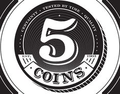Ознакомьтесь с этим проектом @Behance: «FIVE COINS» https://www.behance.net/gallery/23692951/FIVE-COINS