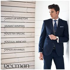 b946c1844fe06 Mężczyzna w garniturze zawsze ma klasę, wzbudza zaufanie i zainteresowanie  kobiet. Winston to garnitur