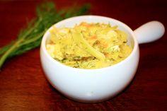 KRÓTKO DUSZONA MŁODA KAPUSTA Z KURCZAKIEM - MumMe Cabbage, Grains, Rice, Vegetables, Food, Essen, Cabbages, Vegetable Recipes, Meals