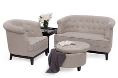 Spread the word about this week's deal (the Octavia Collection!) using your social media networks, and you could win the 3-pc sofa set (a $927 value)!