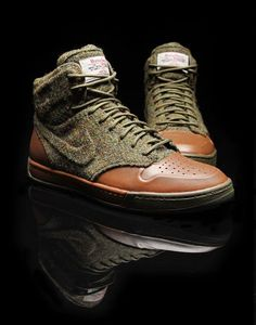 The new WMNS Nike Air Royalty (Oct 22, 2010)    Harris Tweed – Vach Pack: Dark Army/Dark Army – Dark Loden, 419446-300