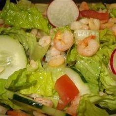 Shrimp Garden Salad