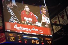"Chicago's United Center has a ""Bandwagon Cam"" for Heat fans in the Arena...and Miami lost too."