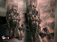 greek god tattoo sleeve | Thor - God Of Thunder 8531 Santa Monica Blvd West Hollywood, CA 90069 - Call or stop by anytime. UPDATE: Now ANYONE can call our Drug and Drama Helpline Free at 310-855-9168.