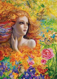 """Summer Breeze 1"" par Josephine Wall"