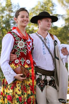 Clothing from Podhale, southern Poland. Image © Młode Podhale.